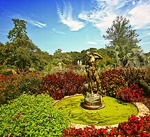 Brookgreen Gardens - Fall On The Way by photosan