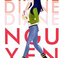 Diane Nguyen : BoJack Horseman by MaxGunner44