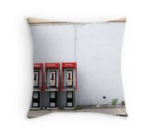 Three Way Calling Throw Pillow