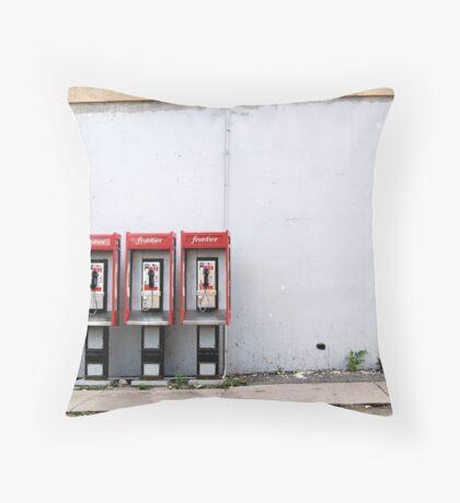 Three Way Calling Throw Pillow