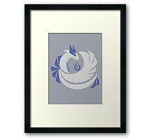 Soul Silver - Lugia Framed Print