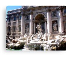 The Trevi Fountain Canvas Print