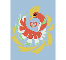 Heart Gold - Ho-Oh Photographic Print