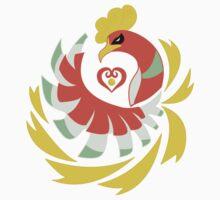 Heart Gold - Ho-Oh by kinokashi