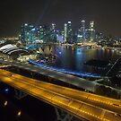 Singapore Marina Bay by Mark Bolton