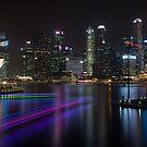 Singapore CBD by Mark Bolton