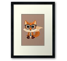 Fox Nerd Framed Print