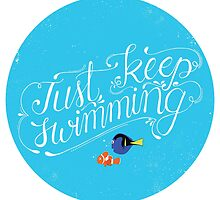 Just Keep Swimming by Georgy Roy