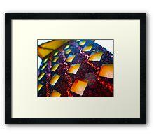 tiki light Framed Print