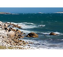 Crystal Crescent Waves Photographic Print