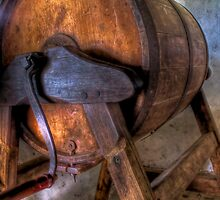Old Barrel  by Scott Sheehan