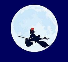 Kiki's Delivery Service Moon by LadyTakara