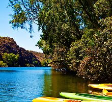 Kayaking Katherine Gorge by Jaxybelle