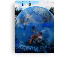 Human Water Hamster Canvas Print