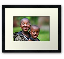 Hope for the Future Framed Print