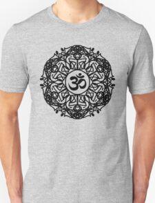 Flower Mandala & Om Unisex T-Shirt