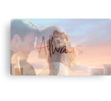 "Castle ""Always"" Edit Canvas Print"