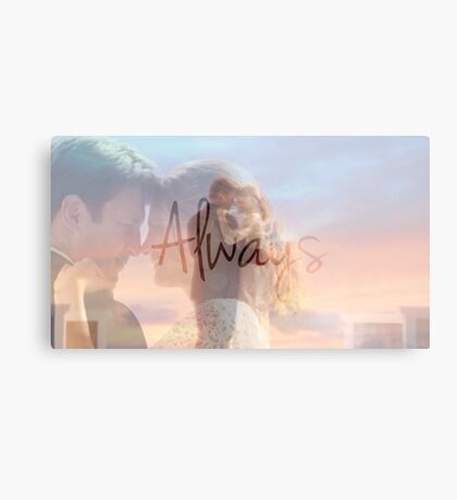 "Castle ""Always"" Edit Metal Print"