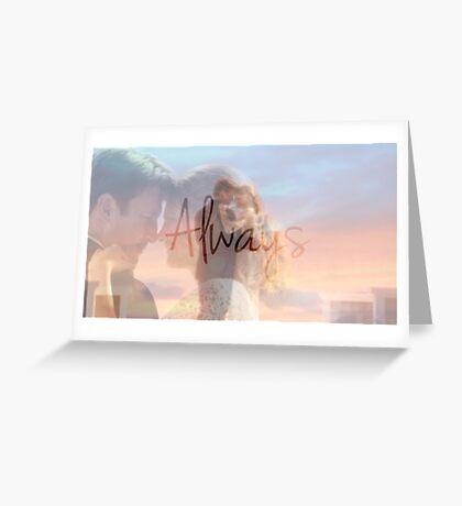 "Castle ""Always"" Edit Greeting Card"