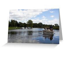Messing About On The River Greeting Card