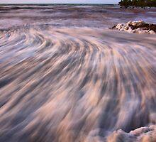 Foaming Sea. by John Vandeven