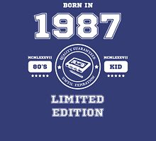 Born in 1987 Unisex T-Shirt
