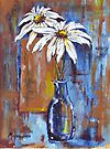 Two Daisies by Maree  Clarkson