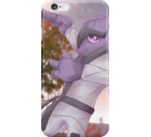Dageki   ダゲキ   Sawk (Shiny) iPhone Case/Skin