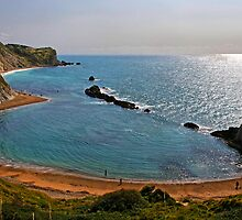 Saint Oswald's Bay, Dorset, UK by buttonpresser