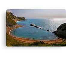 Saint Oswald's Bay, Dorset, UK Canvas Print