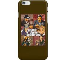 Grand Theft Deadwood | Deadwood + Grand Theft Auto iPhone Case/Skin