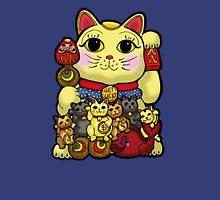 Lucky Cat and Kittens - Maneki Neko T-Shirt