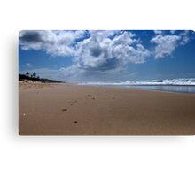 Gold Coast sea beach, Between two elements! Canvas Print