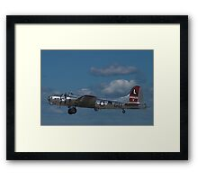 "B-17 Superfortress ""Yankee Lady"" Framed Print"
