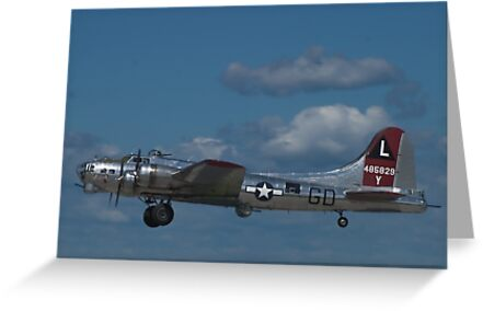 """B-17 Superfortress """"Yankee Lady"""" by Henry Plumley"""