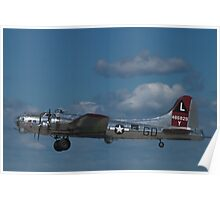 "B-17 Superfortress ""Yankee Lady"" Poster"