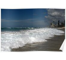 Gold Coast sea beach, who lives there! Poster