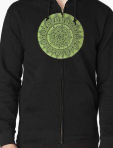 Green Mandala Transparent Background T-Shirt