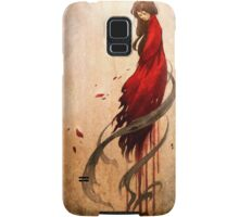 Girl in Red Samsung Galaxy Case/Skin