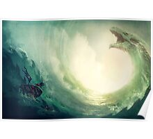 Sea is a Dragon Poster