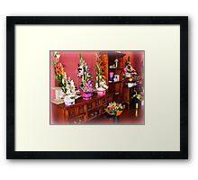 Florist Shop -  Love it in here. Framed Print