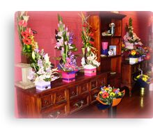 Florist Shop -  Love it in here. Canvas Print