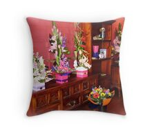 Florist Shop -  Love it in here. Throw Pillow