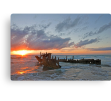 Sunrise at the Dicky Canvas Print
