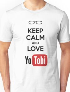 Keep Calm Yotobi Unisex T-Shirt