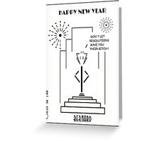Bernard - Happy New Year! Greeting Card