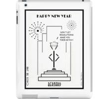 Bernard - Happy New Year! iPad Case/Skin