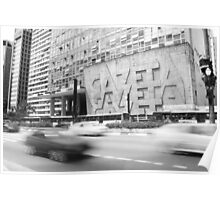 Sao Paulo Madness Poster