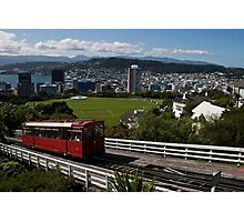 Wellington Cable Car Photographic Print