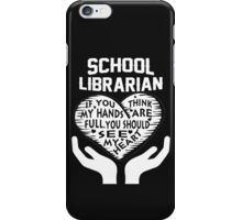 School Librarian iPhone Case/Skin